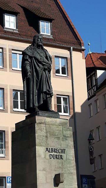 Albrecht Duerer monument in Nuremberg