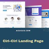 9 Ciri – Ciri Landing Page