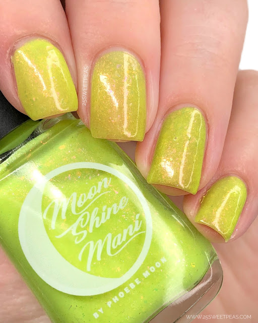Moon Shine Mani Eat Pray Love 25 Sweetpeas
