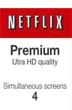 Paket Berlangganan Premium Netflix