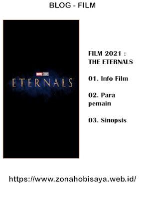 FILM 2021 : The Eternals   Setelan entri Label Film, Tidak ada saran yang cocok Dipublikasikan pada 14/01/21 00.30 Permalink Lokasi Deskripsi Penelusuran Opsi Postingan: EditMemuat…