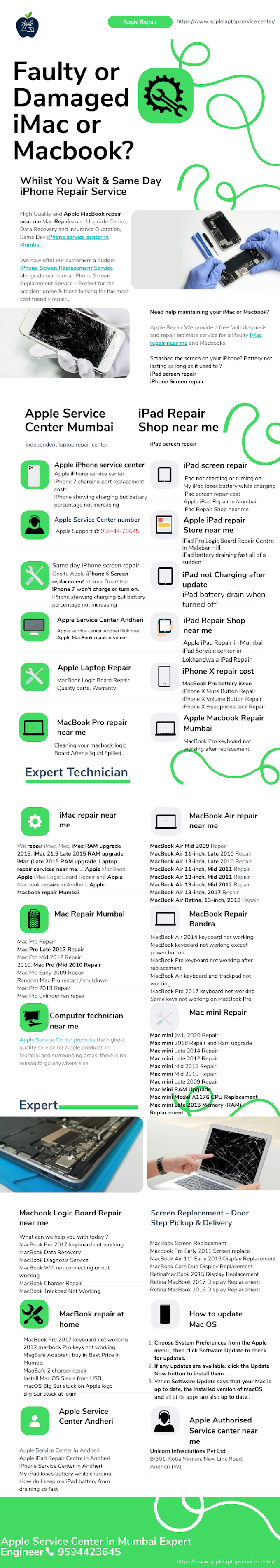 Apple Service Centre in Mumbai | Call Expert Technician
