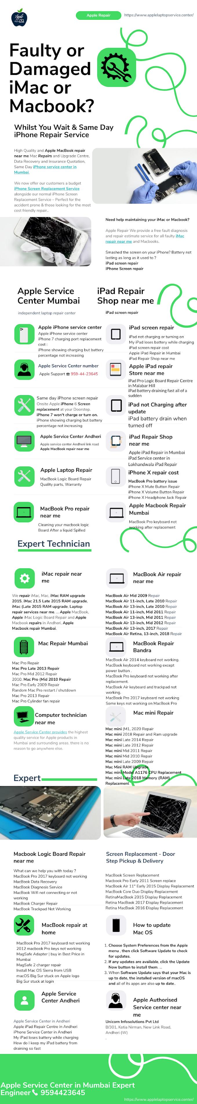 Apple Service Centre in Mumbai | Call Expert Technician