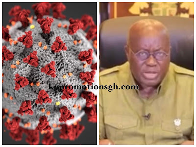President Of Ghana, Nana Akuffo Addo Bans All Social And Public Gatherings Including Schools And Churches (Watch Video & Read Details)