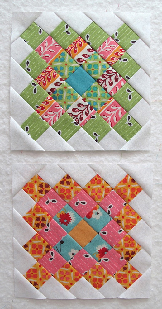Granny Square Pot Holders Quilt Free Tutorial designed by Lori of Bee In My Bonnet.