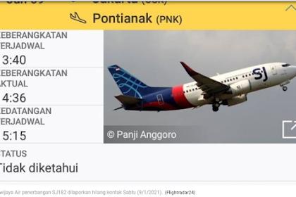 Pria Ini Menangis Histeris, Istri dan 3 Anaknya Penumpang Pesawat Sriwijaya Air SJ 182