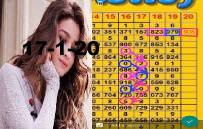 Thai Lottery 3up VIP Single Facebook Timeline Blogspot 17 January 2020
