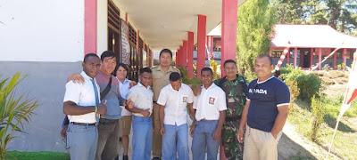 Kodim 1302/Minahasa Jamin Keamanan Siswa Papua