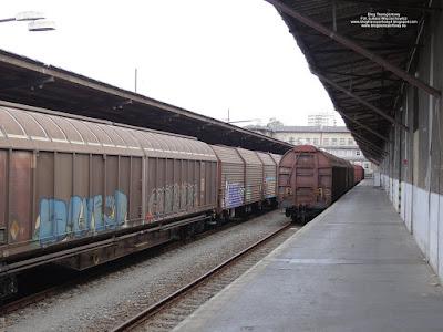 Wagon kryty serii Habbillnss, koleje czeskie, Czech Raildays 2018