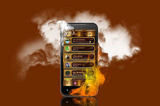 BBM mod Golden Angel Final V2.12.0.11 Apk Terbaru