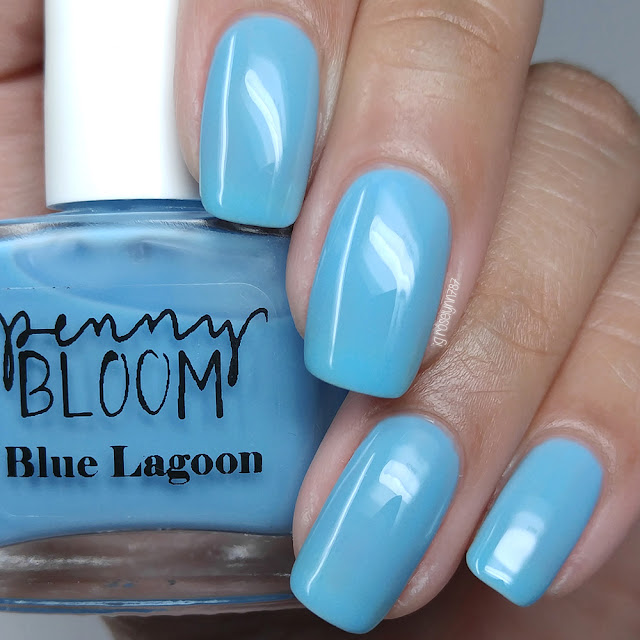 Penny Bloom Nail Polish - Blue Lagoon
