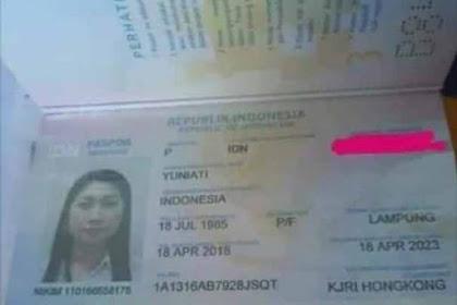 Ditemukan Paspor Milik PMI Hong Kong Ditemukan Diatas Troli Bandara Juanda Surabaya Bernama Yuniati Asal Banyuwangi