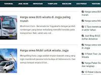 Template Blog Mastimon, Yang Responsive dan Premium
