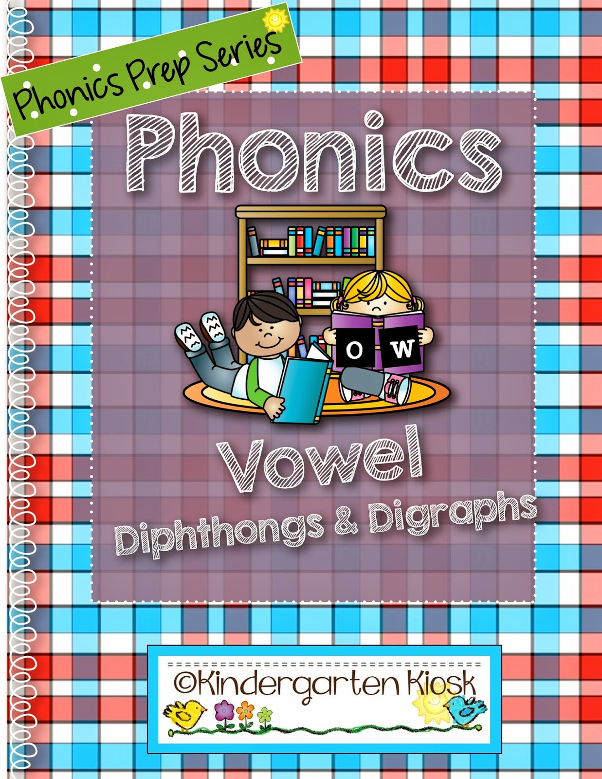 Kindergarten Kiosk Phonics Prep Vowel Digraphs And Diphtongs