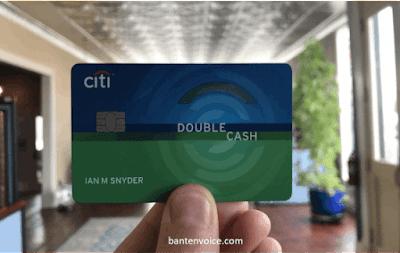 Citi double cash card