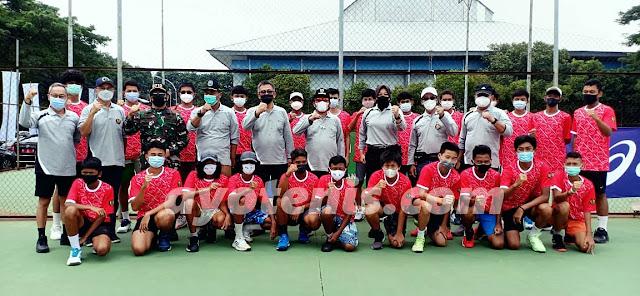 Hasil Pertandingan Invitasi Tenis Yunior Hari Pertama, 1 Maret 2021