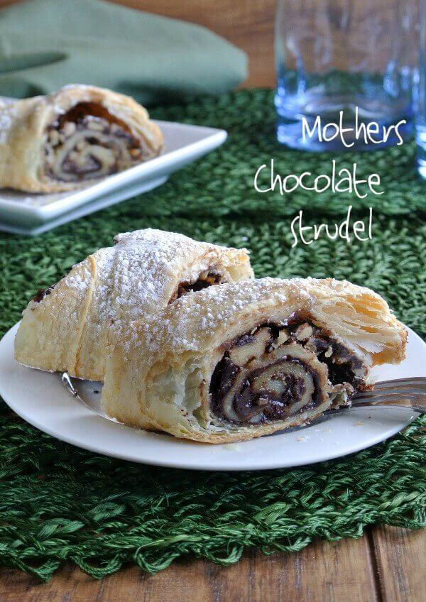 The Best  Mother's Chocolate Strudel