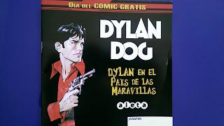 Dylan Dog en el pais de las maravillas