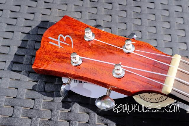 Harley Benton Kahuna CLU-42C ukulele headstock