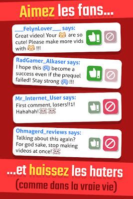 Télécharger Vlogger Go Viral - Clicker mod Apk pour android