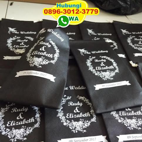 pabrik souvenir kantong spunbond harga murah 50436