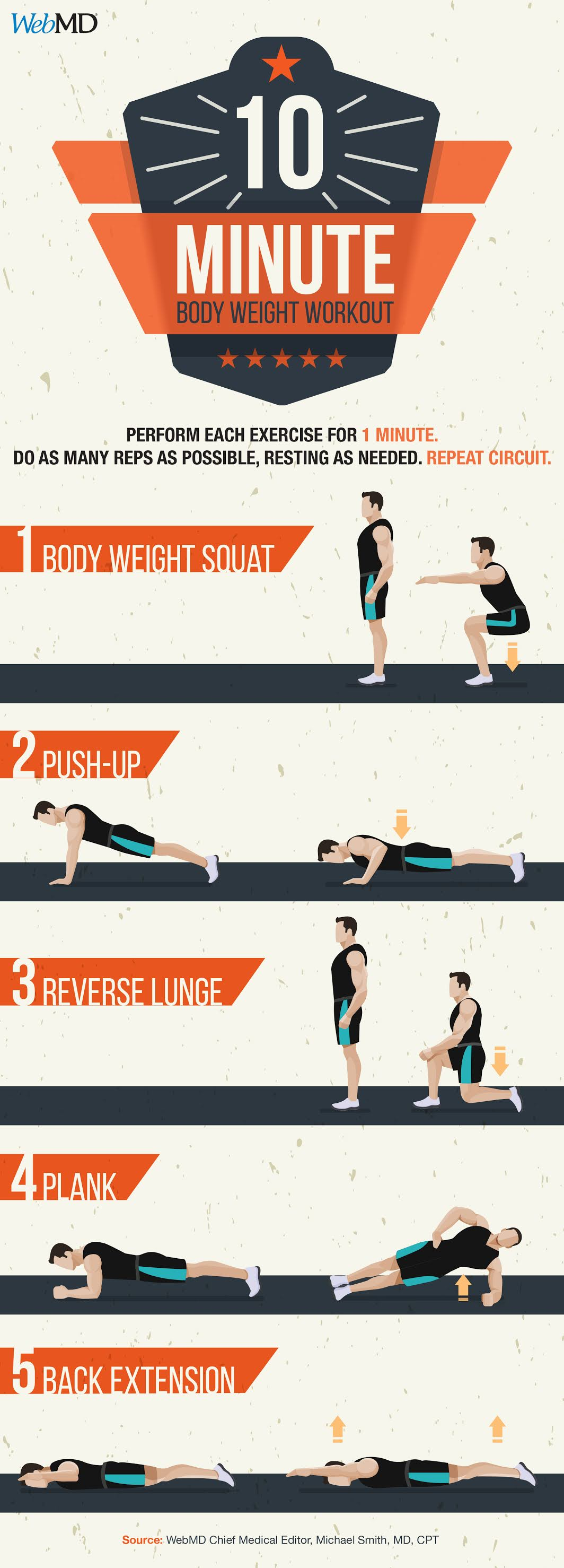 10 Spectacular Workouts To Help Your Fitness Routine