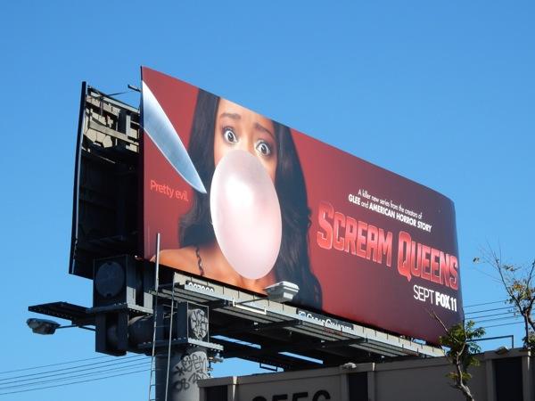 Scream Queens Pretty evil billboard