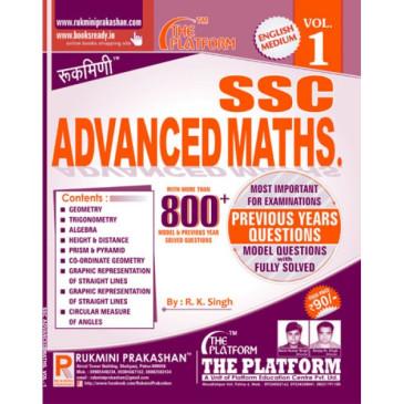 Platform Advance Maths Vol  1 & 2 (English Medium)