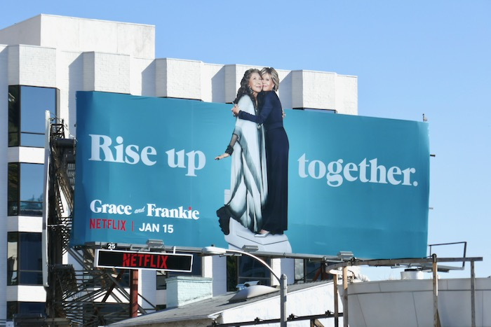 Grace and Frankie season 6 billboard