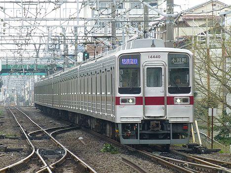 東武東上線 快速急行 小川町行き8 10030系R