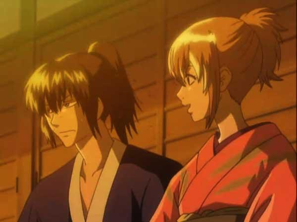 10 pasangan anime terbaik versi Charapedia - Toshiro Hijikata x Mitsuba Okita (Gintama)