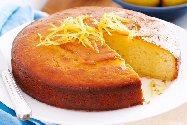 How orange cake works