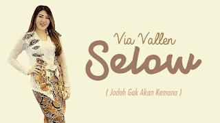Lirik Lagu Selow (Jodoh Gak Akan Kemana) - Via Vallen