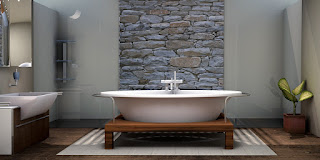 Able & Ready Construction can remodel your Prescott home's bathroom with upgrades like a luxury free-standing bathtub.