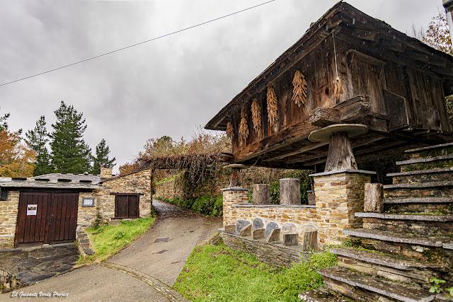 Casa natal Marqués de Sargadelos (acceso), Oscos - Asturias