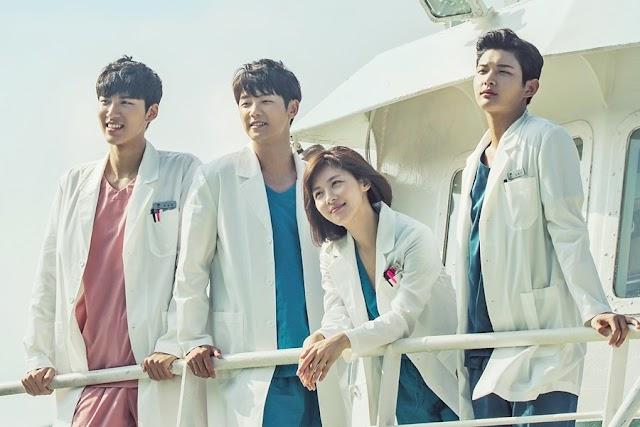 Tonton Hospital Ship Kdrama (Starring Ha Ji Won & Kang Min Hyuk)