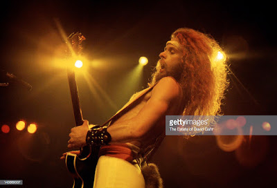 Ted Nugent on stage at Madison Square Garden November 10, 1977. He fuckin' kicked ass!!!