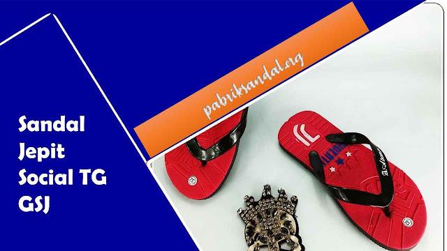 Pabrik Sandal Anak 5000-an | Sandal Anak Cowok | Sandal Jepit Social TG GSJ