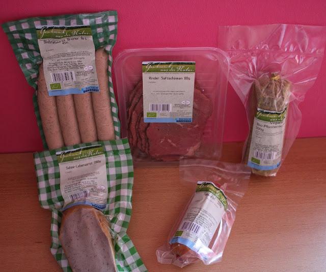 Wurstwaren von Bakenhus Biofleisch