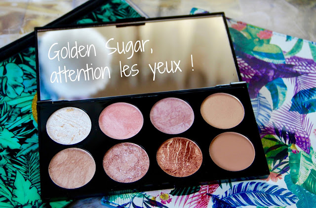 photo beauté beaute beauty golden sugar makeup revolution palette highlighter