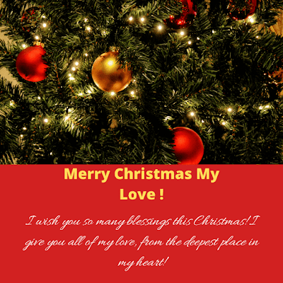 christmas wishes images for love
