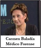 Carmen Baladía. Médico forense
