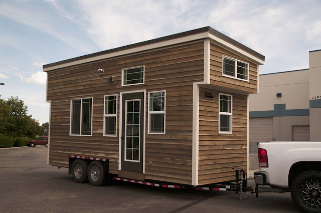The Huckleberry tiny house from Mouse House