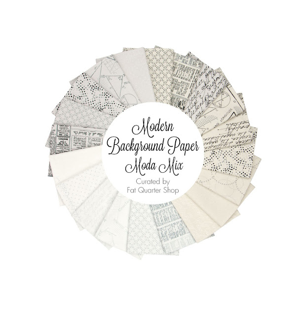 Modern Background Paper fat quarter bundle from the Fat Quarter Shop