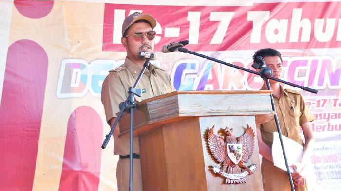 Hari Jadi Desa Gareccing ke-17, Bupati Harap Akselerasi Pemerintah dan Masyarakat