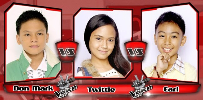 Earl Won Over Twittle and Angelo for The Sing-offs of The Voice Kids Philippines