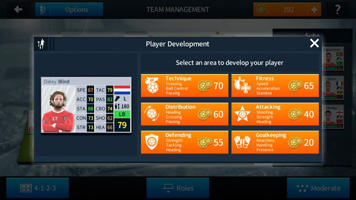Player Development DLS 18