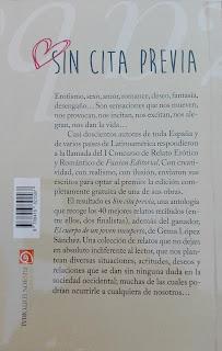 "Contraportada ""Sin cita previa"" coautor Fransánchez"