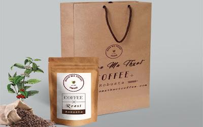 Quà tặng cà phê Buôn Ma Thuột đặc sản tinh hoa núi rừng Tây Nguyên