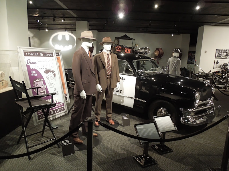 Gangster Squad movie costumes police car